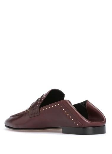 %100 Deri Loafer Ayakkabı-Etoile İsabel Marant